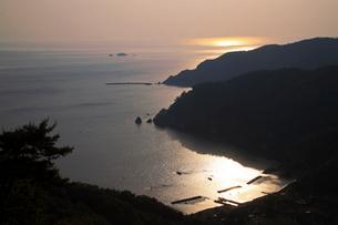 常神半島夕景の写真素材 [FYI01588482]