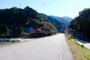 愛本橋の写真素材 [FYI01589100]
