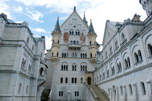 ノイシュヴァンシュタイン城の写真素材 [FYI01589413]
