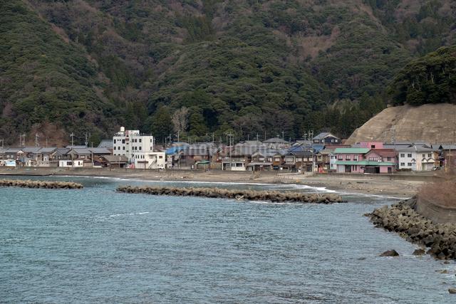 小川漁村の写真素材 [FYI01589586]