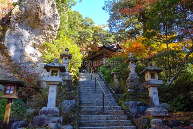 那谷寺大悲閣の写真素材 [FYI01589596]