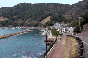 神子漁村の写真素材 [FYI01589755]