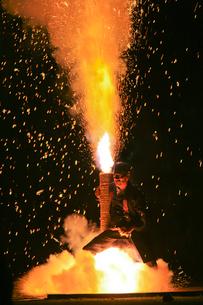 手筒花火の写真素材 [FYI01591833]