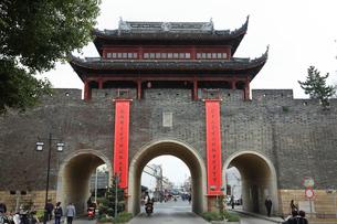 蘇州 盤門の写真素材 [FYI01591924]