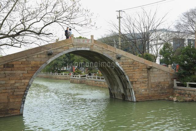 蘇州 下津橋の写真素材 [FYI01591939]