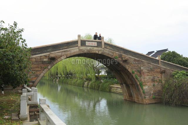 蘇州 上津橋の写真素材 [FYI01591985]