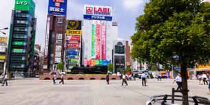 新橋駅前 SL広場の写真素材 [FYI01592053]