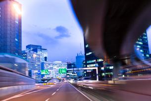 首都高速道路の写真素材 [FYI01592086]