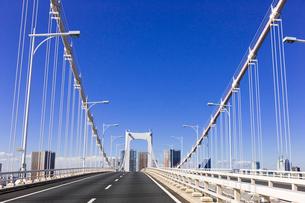 首都高速道路 レインボーブリッジの写真素材 [FYI01592160]