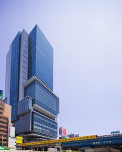 渋谷ヒカリエと銀座線の写真素材 [FYI01592603]