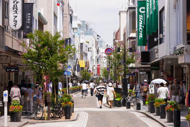 横浜 元町ショッピングストリートの写真素材 [FYI01593318]
