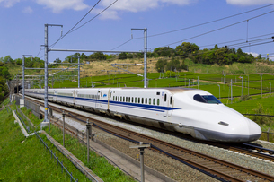 東海道新幹線 N700系の写真素材 [FYI01593369]