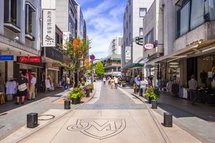 横浜 元町ショッピングストリートの写真素材 [FYI01593376]