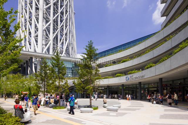 東京スカイツリータウン、東京ソラマチの写真素材 [FYI01593407]