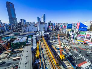 渋谷再開発の写真素材 [FYI01593439]