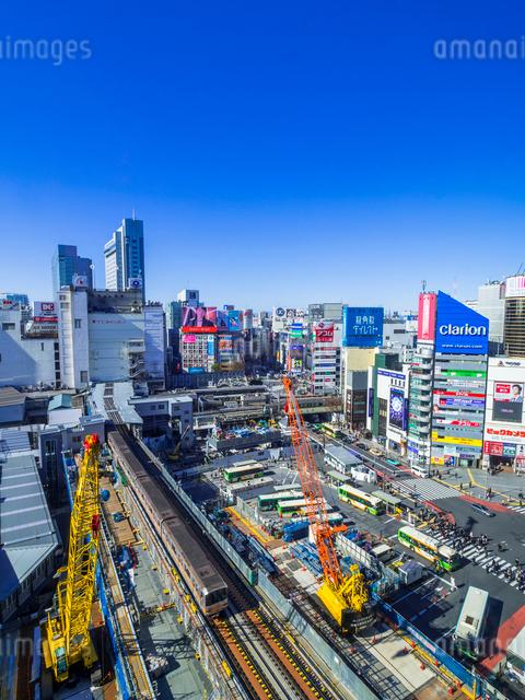 渋谷再開発の写真素材 [FYI01593736]