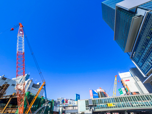 渋谷再開発の写真素材 [FYI01593814]