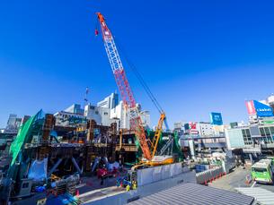 渋谷再開発の写真素材 [FYI01593821]