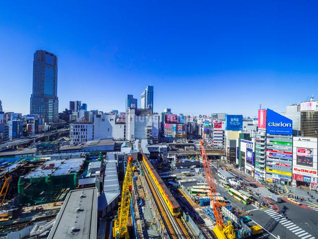 渋谷再開発の写真素材 [FYI01593835]