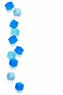 ブルーの積み木の写真素材 [FYI01594221]