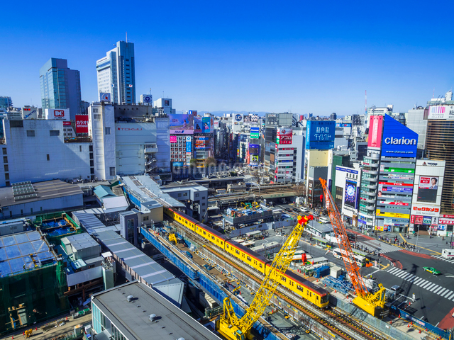 渋谷再開発の写真素材 [FYI01594268]