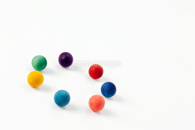 カラフルな球の写真素材 [FYI01594276]