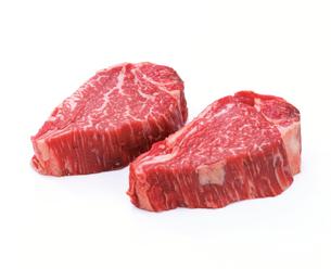 牛肉 フィレステーキの写真素材 [FYI01594365]
