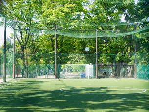 渋谷 宮下公園 フットサル場の写真素材 [FYI01594405]