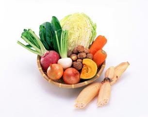 秋冬野菜の写真素材 [FYI01594483]