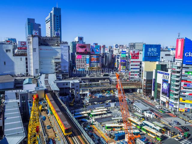 渋谷再開発の写真素材 [FYI01594501]