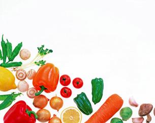 野菜パターンの写真素材 [FYI01594594]