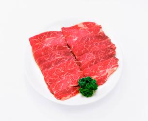 牛肉 バラの写真素材 [FYI01594615]