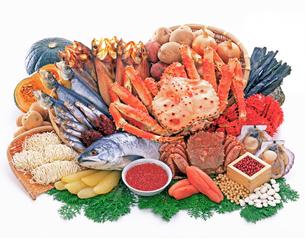 北海道の食材の写真素材 [FYI01594699]