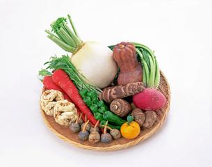 冬の京野菜の写真素材 [FYI01594757]