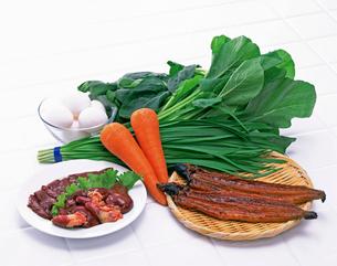 ビタミンAを多く含む食品の写真素材 [FYI01594843]