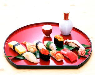 にぎり寿司の写真素材 [FYI01594929]