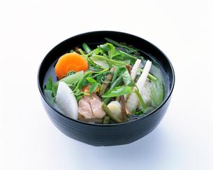 秋田風 雑煮の写真素材 [FYI01594994]