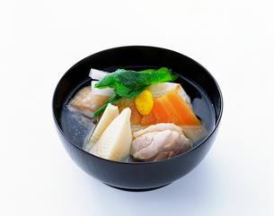 関東風 雑煮の写真素材 [FYI01595011]