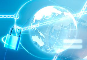 インターネットセキュリティのイメージの写真素材 [FYI01595032]