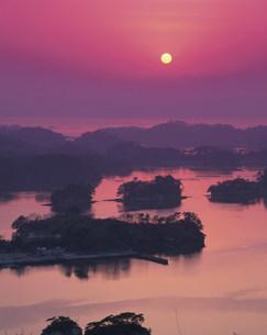 大高森からの松島夕照の写真素材 [FYI01595170]