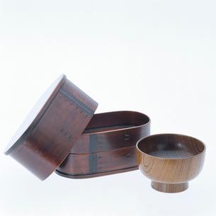 木曽漆器の写真素材 [FYI01595203]