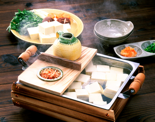 湯豆腐の写真素材 [FYI01595258]
