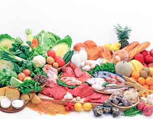 いろいろな食材の写真素材 [FYI01595306]