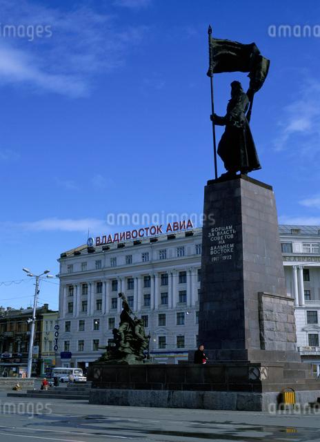 革命戦士広場の写真素材 [FYI01595341]