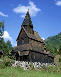 ウルネススターヴ教会の写真素材 [FYI01595408]