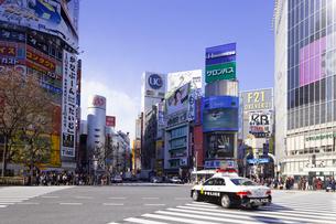 渋谷駅前の写真素材 [FYI01595709]