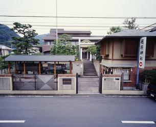 飛行神社の写真素材 [FYI01596545]