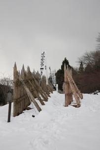 石田三成陣跡 関ヶ原合戦の笹尾山の写真素材 [FYI01596823]