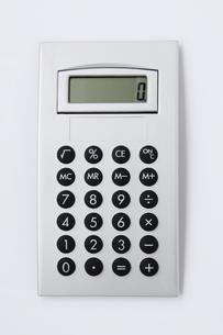 電卓の写真素材 [FYI01597230]