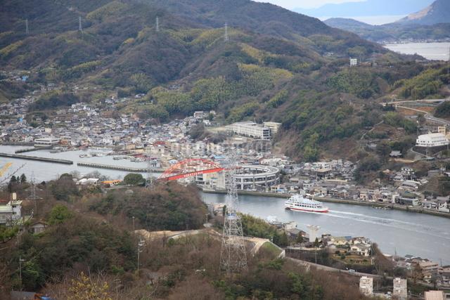 音戸大橋の写真素材 [FYI01597303]